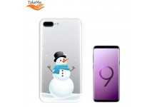 TakeMe special design ultra thin back cover case for Samsung Galaxy S9+ (G965) Snowman