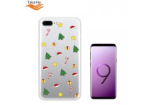 TakeMe special design ultra thin back cover case for Samsung Galaxy S9+ (G965) Christmas Mood