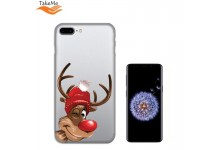 TakeMe special design ultra thin back cover case for Samsung Galaxy S9 (G960) Winter Deer