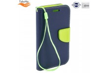TakeMe Fancy Diary Bookstand Case Huawei Honor 10 Lite Blue/Light Green