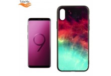 TakeMe GLASS glossy slim back cover case for Samsung Galaxy S9 (G960) Green Galaxy