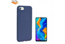 TakeMe Soft feeling super slim matte back cover case for Huawei P30 Lite Dark blue