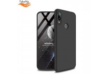 TakeMe Ultra slim 3 parts 360 Protection Back Full cover case for Xiaomi Redmi 7 Black