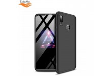 TakeMe Ultra slim 3 parts 360 Protection Back Full cover case for Huawei P Smart (2019) / Honor 10 Lite Black