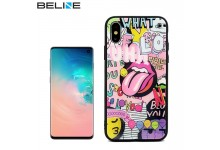 Beline Ultra slim back cover case with picture Under Glass for Samsung Galaxy S10 Graffiti