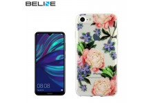 Beline Ultra-thin TPU Pattern phone back cover case for Huawei Y7 (2019) / Y7 Prime (2019) Flowers