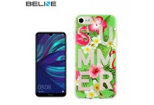 Beline Ultra-thin TPU Pattern phone back cover case for Huawei Y7 (2019) / Y7 Prime (2019) Summer