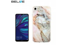 Beline Ultra-thin TPU Pattern phone back cover case for Huawei Y7 (2019) / Y7 Prime (2019) Marble with Heart