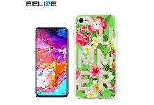 Beline Ultra-thin TPU Pattern phone back cover case for Samsung Galaxy A70 (A705F) Summer