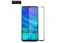 MyScreen Diamond Edge 2.5D FULL GLUE 0.33mm Glass Huawei P Smart (2019) Full Face with Black Frame
