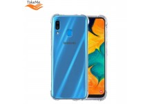 TakeMe Anti-Shock Extra Protection 0.5mm Back cover case for Samsung Galaxy A30s (A307F) Transparent