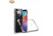 TakeMe Anti-Shock Extra Protection 0.5mm Back cover case for Huawei Y7 (2019) Transparent
