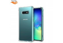 TakeMe Anti-Shock Extra Protection 0.5mm Back cover case for Samsung Galaxy S10 (G973) Transparent