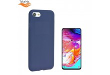 TakeMe Soft feeling super slim matte back cover case for Samsung Galaxy A70 (A705F) Dark blue
