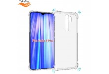 TakeMe Anti-Shock Extra Protection 0.5mm Back cover case for Xiaomi Redmi Note 8 Pro Transparent