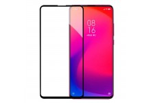 TakeMe 3D Extra sticky Full surface Glue 0.3mm Tempered Glass for Xiaomi Redmi Note 8 Pro Black