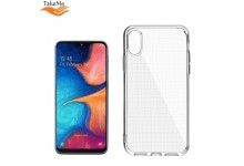 """TakeMe """"Clear"""" series Transparent 2mm thin back cover case for Samsung Galaxy A20e (A202F)"""