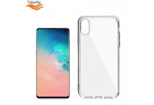 "TakeMe ""Clear"" series Transparent 2mm thin back cover case for Samsung Galaxy S10 (G973)"