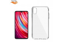 """TakeMe """"Clear"""" series Transparent 2mm thin back cover case for Xiaomi Redmi Note 8 Pro"""