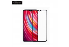 MyScreen Lite Edge FULL GLUE 0.33mm 9H Premium Japan Glass for Xiaomi Redmi Note 8 Full Face with Black Frame
