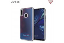 GUESS GUHCHPS19GLCR California Liquid back cover case glow in the Dark for Huawei P Smart (2019) / Honor 10 Lite Blue
