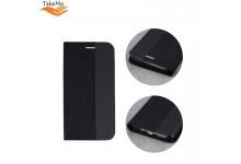 TakeMe Fabric series Smart magnetic fix book case for Samsung Galaxy A20e (A202F) Black