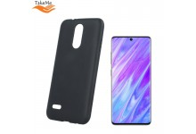 TakeMe Matte Soft TPU super slim back cover case for Samsung Galaxy S20 (G980) Black