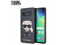 Karl Lagerfeld KLHCS10IKPUBL Thin PO / TPU Back cover case for Samsung Galaxy S10 (G973) Dark Blue