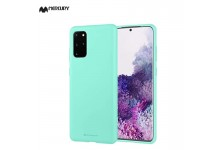 Mercury Soft feeling Super Thin TPU Matte surface back cover case for Samsung Galaxy S20 (G980) Mint