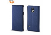 TakeMe Smart Magnetic Fix Book Case without clip Huawei P40 Lite Dark Blue