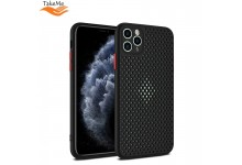"TakeMe ""Breathing dotted"" TPU back cover case for Huawei P40 Lite Black"