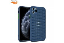 "TakeMe ""Breathing dotted"" TPU back cover case for Huawei P40 Lite Blue"