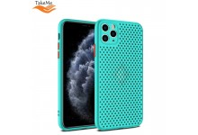 "TakeMe ""Breathing dotted"" TPU back cover case for Huawei P40 Lite Turquoise"