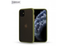 Vennus Color button series TPU back cover case for Huawei P40 Lite Olive