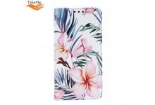 TakeMe Trendy Smart magnetic book case for Xiaomi Redmi Note 8T Blossom