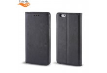 TakeMe Smart Magnetic Fix Book Case without clip Xiaomi Redmi Note 9 Black