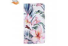 TakeMe Trendy Smart magnetic book case for Huawei P30 Lite Blossom